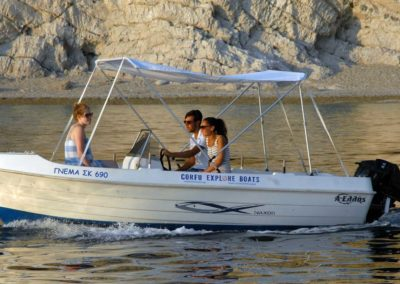 Corfu Explore Boats Rental GNEMA